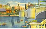 Lafayette St Bridge, Tampa, FL Postcard