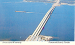 Waterway Pensacola Beach FL Postcard p14963