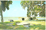 Click here to enlarge image and see more about item p14985: Fort Frederica Georgia Postcard p14985