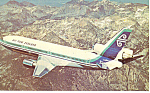 Click here to enlarge image and see more about item p15021: Air New Zealand DC-10,Airline Issue Postcard