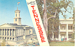 Tennessee State Capitol and Hermitage Postcard p15038