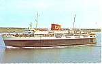 CN Ferry MV Bluenose Postcard p15045