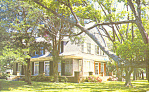 Click here to enlarge image and see more about item p15060: Mistletoe Cottage Jekyll Island GA Postcard p15060