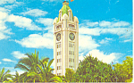 Aloha Tower Honolulu Hawaii Postcard p15065