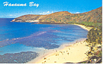 Click here to enlarge image and see more about item p15066: Hanauma Bay, Hawaii Postcard