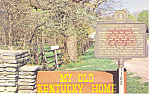 Click here to enlarge image and see more about item p15079: My Old Kentucky Home, Bardstown, KY Postcard