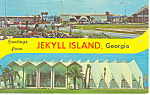 Click here to enlarge image and see more about item p15095: Jekyll Island, Georgia Postcard 1973