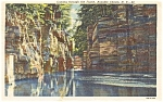 Click here to enlarge image and see more about item p1510: Ausable Chasm NY Postcard p1510