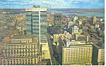 Air View Montreal, Quebec Canada  Postcard 1963