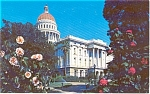 Click here to enlarge image and see more about item p1512: Sacramento CA State Capitol Postcard p1512