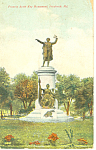 Francis Scott Key Monument, Frederick MD,Postcard 1908