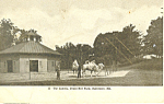 Click here to enlarge image and see more about item p15139: The Camels Druid Hill Baltimore MD Postcard p15139