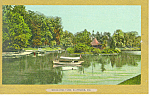 Click here to enlarge image and see more about item p15143: Druid Hill Park Baltimore MD Postcard p15143