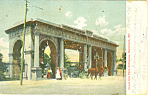 Click here to enlarge image and see more about item p15144: Druid Hill Park Entrance Baltimore MD Postcard p15144