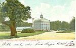 Click here to enlarge image and see more about item p15145: Conservatory Druid Hill Baltimore MD Postcard p15145 1906