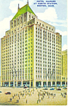 Hotel Manger, Boston, MA Postcard