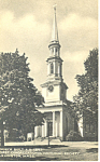 Click here to enlarge image and see more about item p15155: First Congregational Lexington MA Postcard p15155