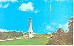 War Memorial, Mt Greylock, MA Postcard