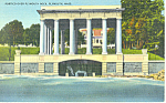 Plymouth Rock, Plymouth, MA Postcard