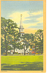 Congregational Church Falmouth  MA Postcard p15202 1950