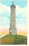Myles Standish Monument, Duxbury, MA Postcard