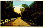 Click here to enlarge image and see more about item p15209: Jacob's Ladder, Becket, MA Postcard