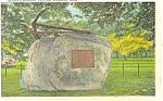 Seaman's Memorial Falmouth, MA Postcard