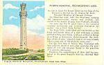 Pilgrim Memorial, Provincetown, MA Postcard