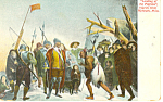 Landing of the Pilgrims, Plymouth MA Postcard