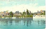 Springfield Boat Club,Springfield,MA Postcard 1910