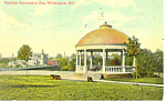Entrance to Zoo, Wilmington, DE Postcard 1913