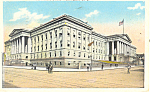 Washington DC,Old Patent Office Postcard 1933