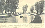 Click here to enlarge image and see more about item p15290: Belle Isle, Detroit, MI Postcard 1906