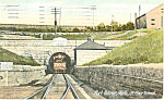 Fort Huron MI  St Clair Tunnel Postcard p15298 1913