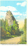 Sugar Loaf Rock, Mackinac Island,MI Postcard