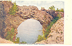 Arch Rock, Mackinac Island,MI Postcard