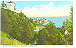 Block House, Mackinac Island,MI Postcard