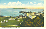 The Harbor, Mackinac Island,MI Postcard