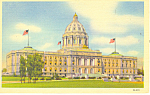 State Capitol St Paul MN Postcard p15322
