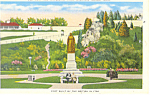 Old Fort, Mackinac Island, MI Postcard