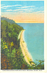 North Boulevard, Mackinac Island, MI Postcard
