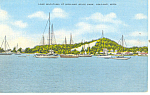 Lake Macatawa Holland MI Postcard p15331