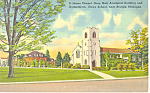 Click here to enlarge image and see more about item p15333: Howe School  Sturgis MI Postcard p15333 1943