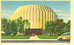 Click here to enlarge image and see more about item p15334: Ford Rotunda, Detroit, MI Postcard 1942