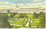 Grand Hotel Mackinac Island MI Postcard p15338 1958