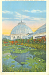 Click here to enlarge image and see more about item p15340: Horticultural Building Detroit MI Postcard p15340 1937