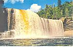 Upper Falls, Tahquamenon River, MI Postcard