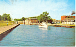 Excursion Boat Messenger Sault Ste Marie  MI Postcard p15362