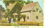 Click here to enlarge image and see more about item p15364: Rose Cottage Greenfield Village MI Postcard p15364