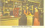 Click here to enlarge image and see more about item p15365: General Store Greenfield Village MI Postcard p15365